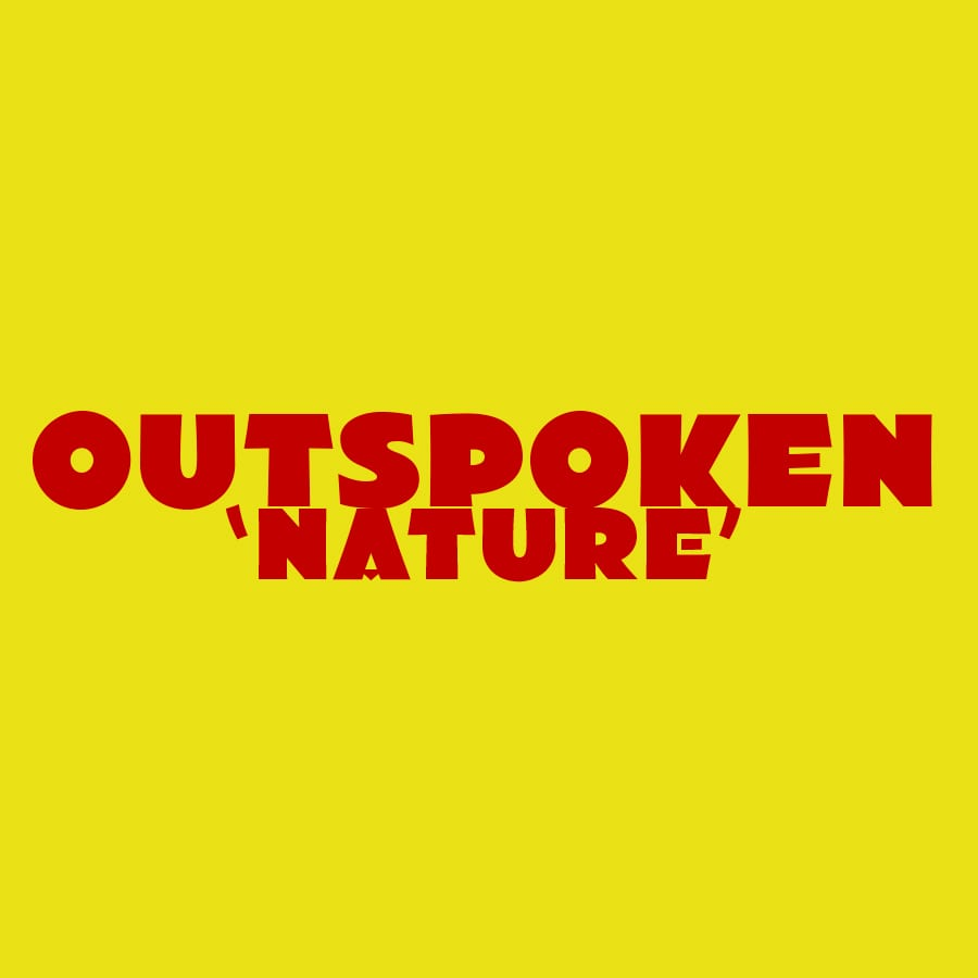 outspoken-nature - typography